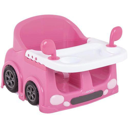 Cadeira de Refeição Kiddo Drive Rosa Portatil