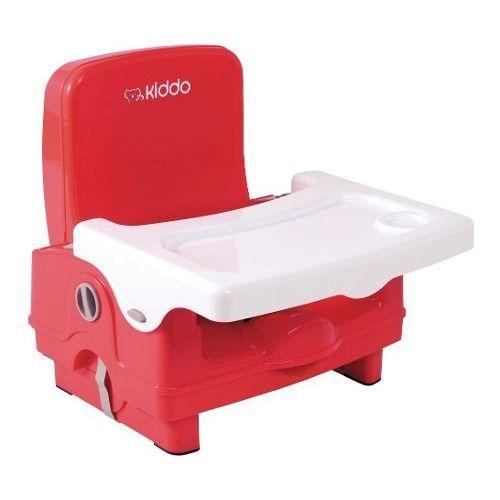 Cadeira de Refeição Kiddo Sweet Vermelho Portatil
