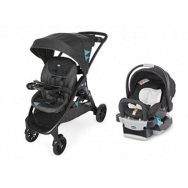 Carrinho de Bebe Bebe Conforto e Base Chicco Stroll'in'2 Octane