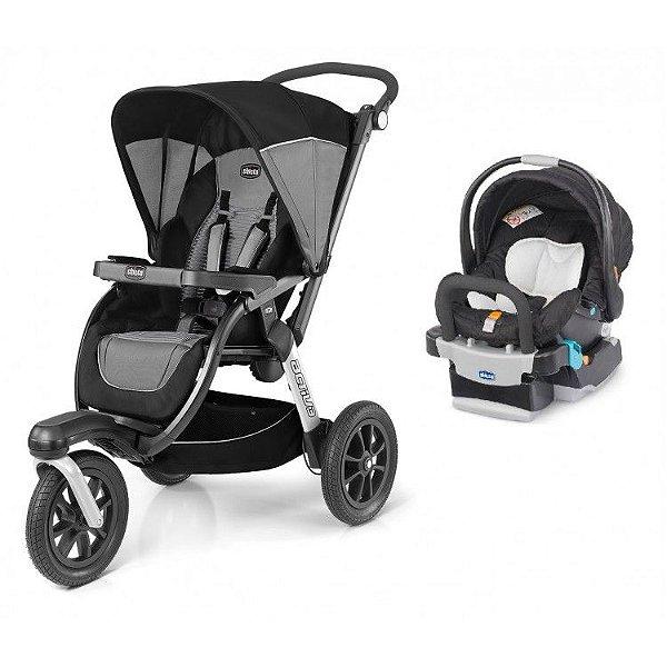 Carrinho de Bebe Bebe Conforto e Base Chicco Activ3 Air Quantun