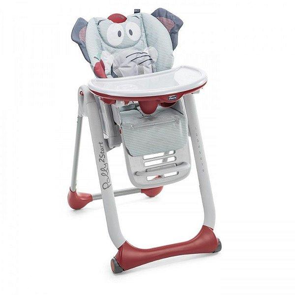 Cadeira de Refeição Chicco Polly2start Baby Elephant