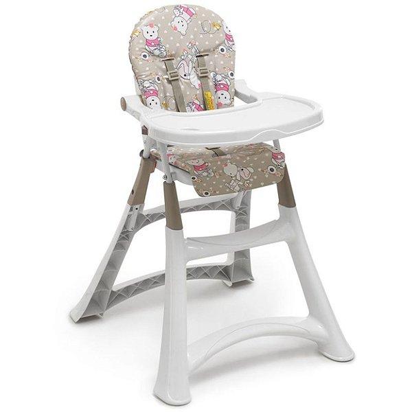 Cadeira de Refeição Galzerano Alta Premium Ursinha
