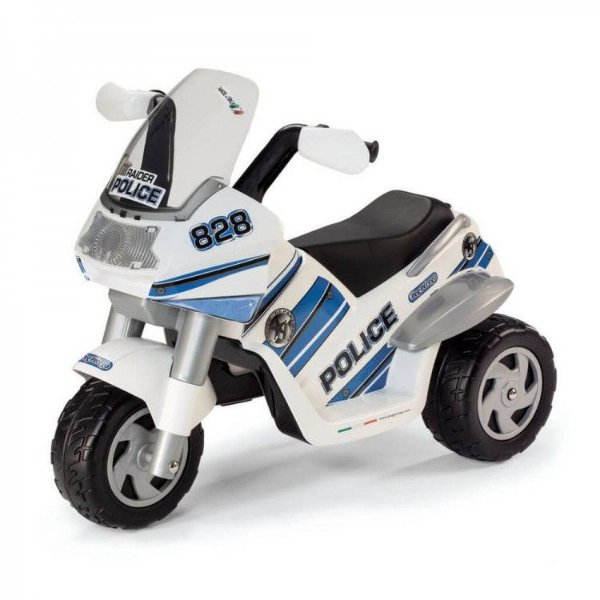 Moto Elétrica Raider Police - Peg-pérego