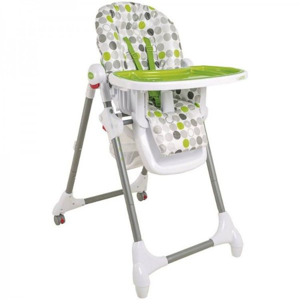Cadeira de Refeição Kiddo Alta Snack Verde