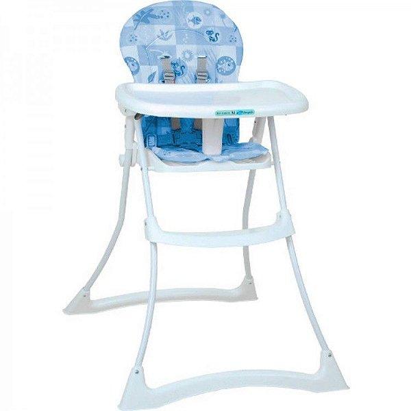 Cadeira de Refeição Burigotto Bon Appetit XL Peixinho Azul