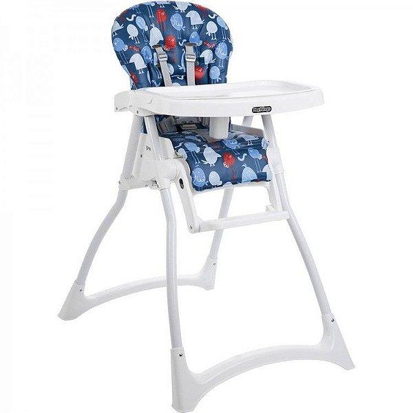 Cadeira de Refeição Burigotto Merenda Passarinho Azul