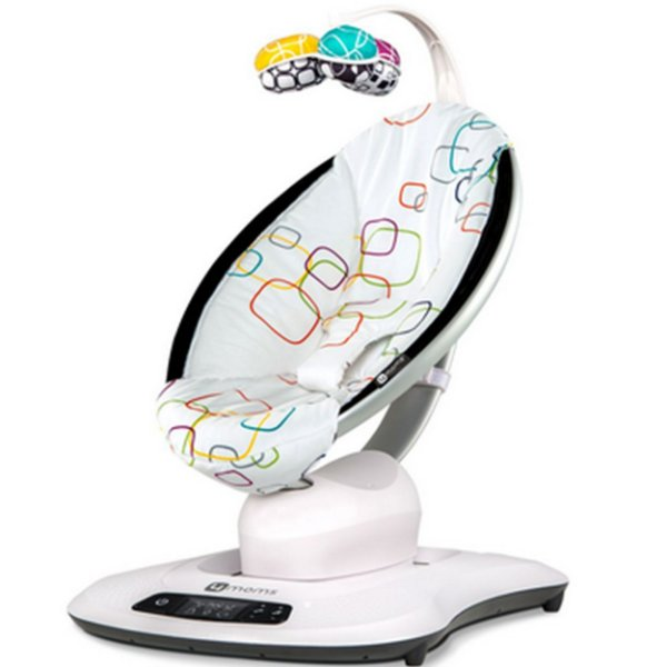 Cadeira De Descanso 4moms Mamaroo 4.0 Multicolor Plush Colorido