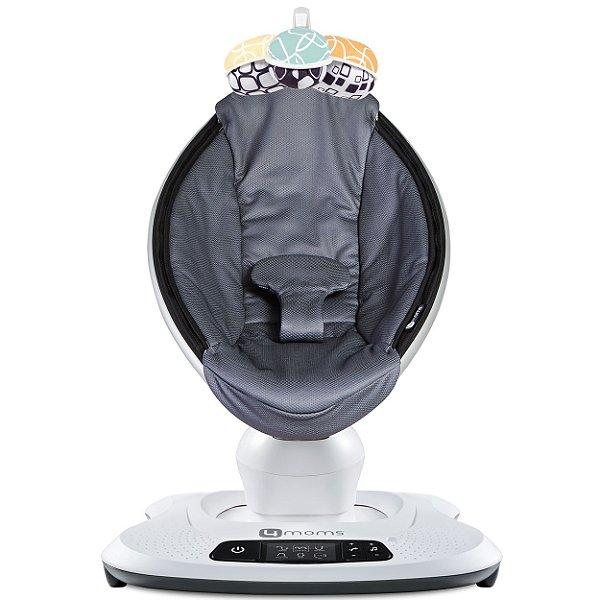 Cadeira De Descanso 4moms Mamaroo 4.0 Grey Mesh Cinza Escuro Prata