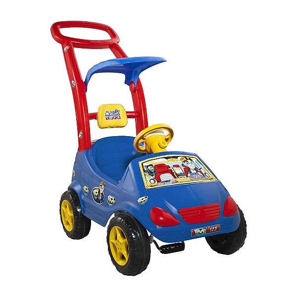 Carrinho Roller Baby Versátil Max Azul Magic Toys