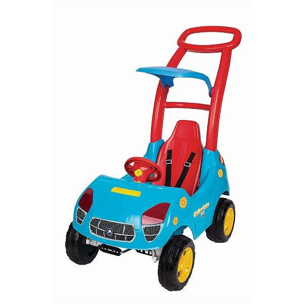 Carrinho Infantil Passeio Roller Baby Fit Com Som E Luz Azul