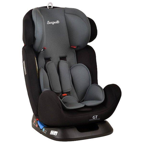 Cadeirinha Para Carro Burigotto GT 0.1.2.3 0 a 36kg Black Preta