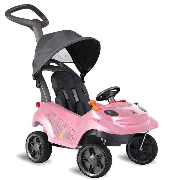 Carrinho de Passeio Smart Baby Comfort Bandeirante Rosa