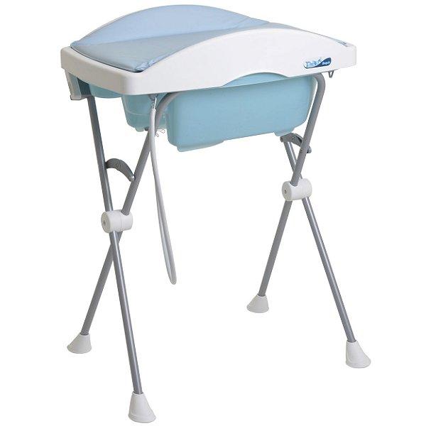 Banheira para Bebe Burigotto Tchibum Baby Blue Azul