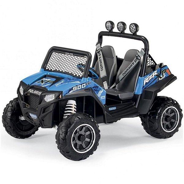 Quadriciclo Peg-Perego Polaris Ranger RZR 900 Blue Azul 12v