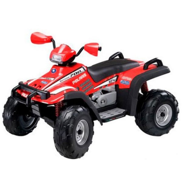 Quadriciclo Peg-Perego Polaris Sportsman 700 Twin-New Red 12V Vermelho