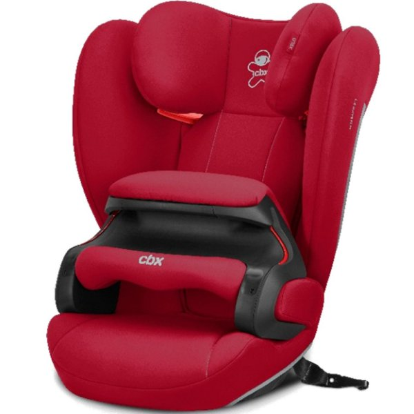 Cadeirinha Para Carro CBX Xelo 9 a 36 Kg Latch Red Vermelha