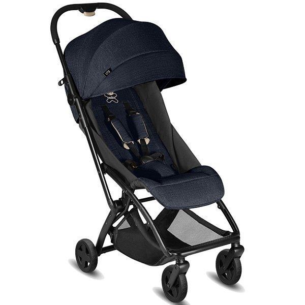 Carrinho de Bebe para Passeio CBX Etu Jeansy Blue Azul