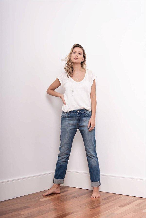 Calça Jeans Boyfriend Slim - 1º ciclo