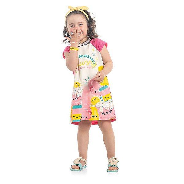 Vestido Infantil Kamylus Cotton