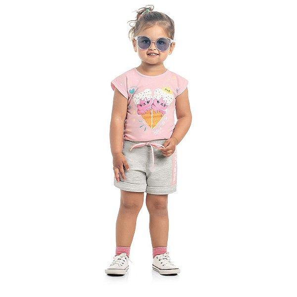 Short Infantil Kamylus Color