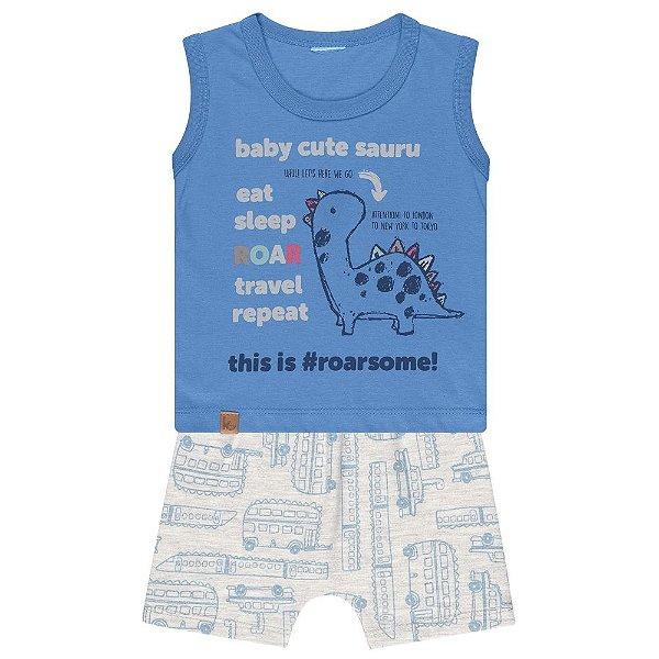 Conjunto Bebê Kamylus Baby Dino
