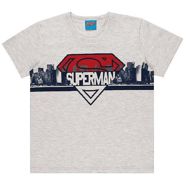 Camiseta Infantil Kamylus Liga da Justiça