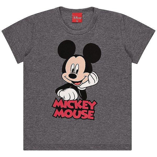 Camiseta Infantil Kamylus Mickey Mouse