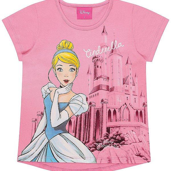 Blusa Infantil Kamylus Princesas
