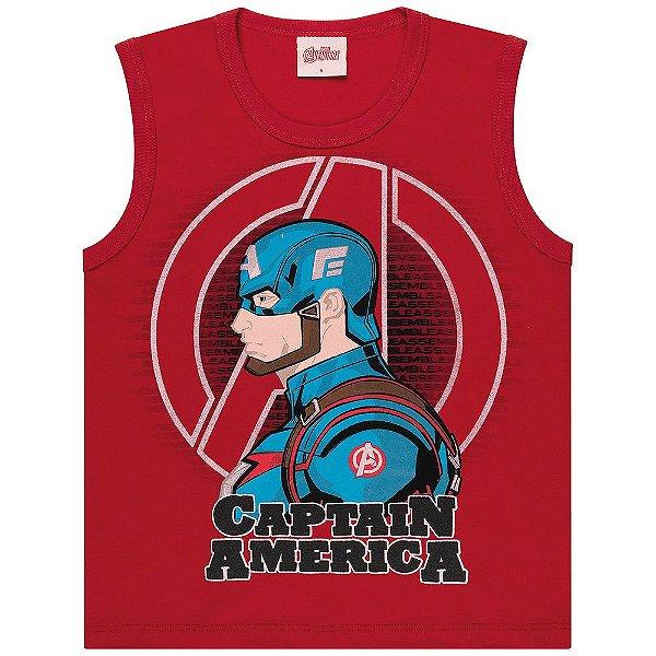 Regata Infantil Kamylus Capitão América