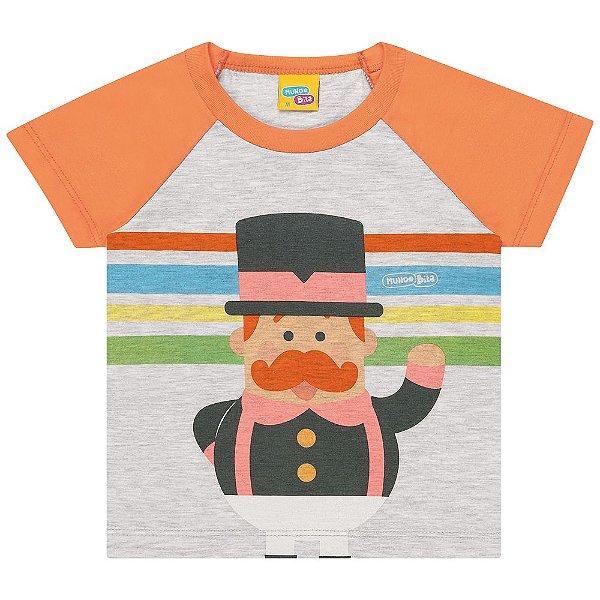 Camiseta Bebê Kamylus Baby Mundo Bita