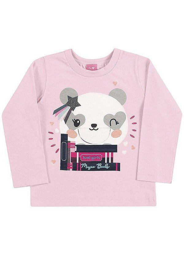 Blusa Panda Leitora