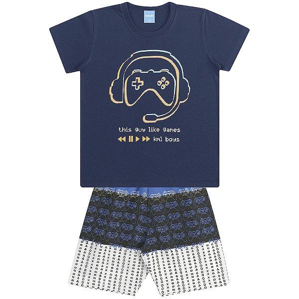Conjunto Camiseta e Bermuda Game Day
