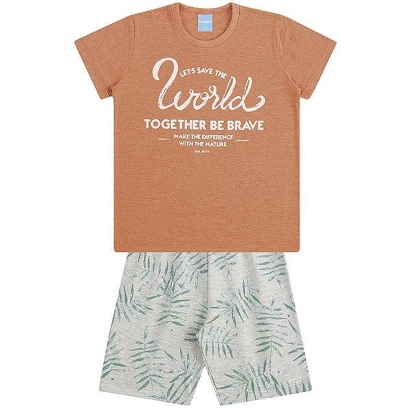 Conjunto Camiseta e Bermuda Pacífico