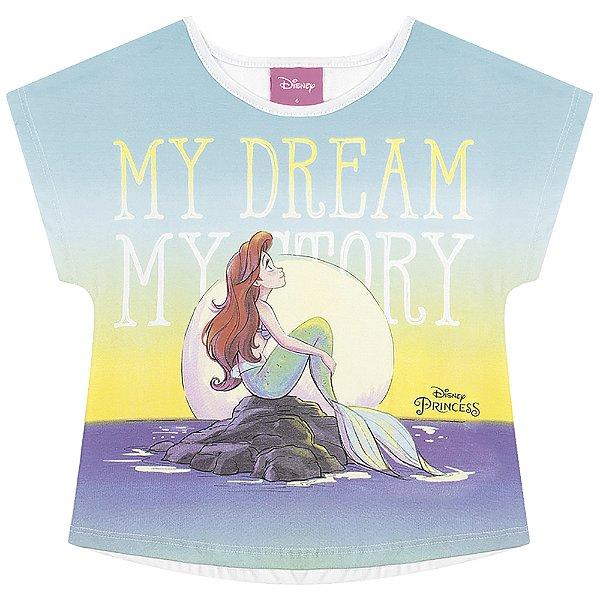 Blusa Ariel - Princesas