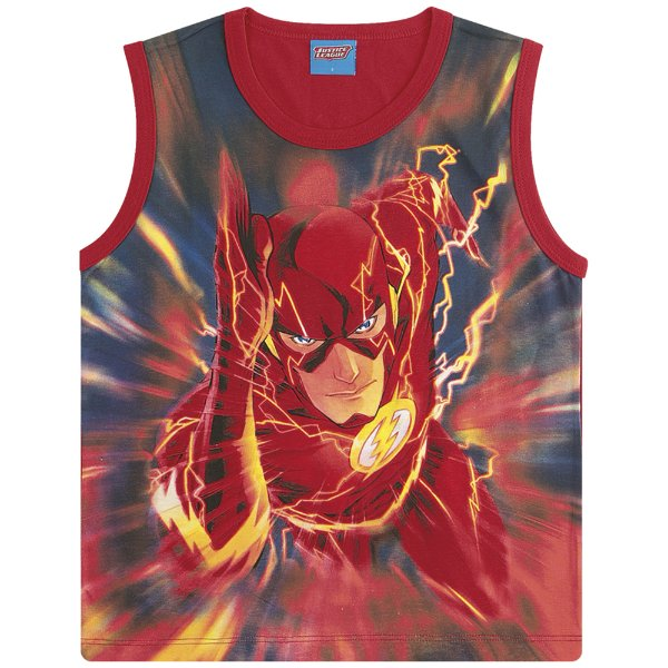 Regata Flash - Liga da Justiça