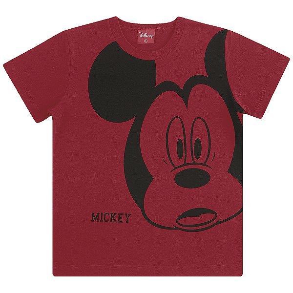 Camiseta Mickey Mouse Assustado