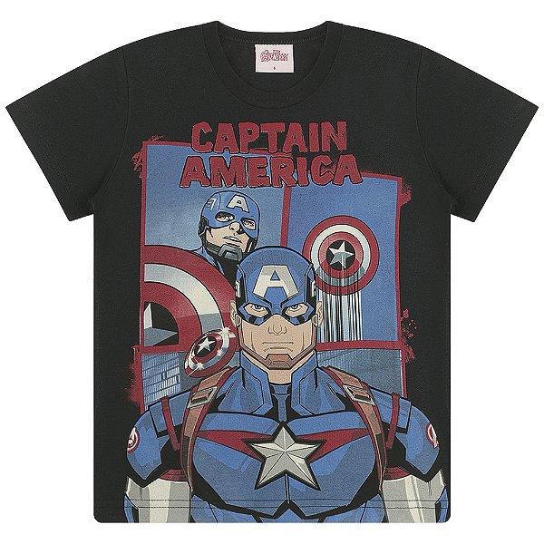 Camiseta Capitão América, Homem de Ferro e Hulk Heróis - Vingadores
