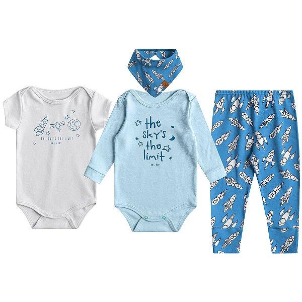 Kit Essencial para Bebês Meninos