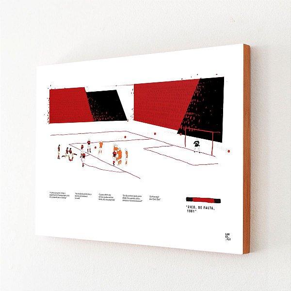Falta de Zico - Libertadores 1981