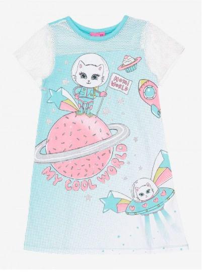 Vestido Bebê Puro Algodão Momi