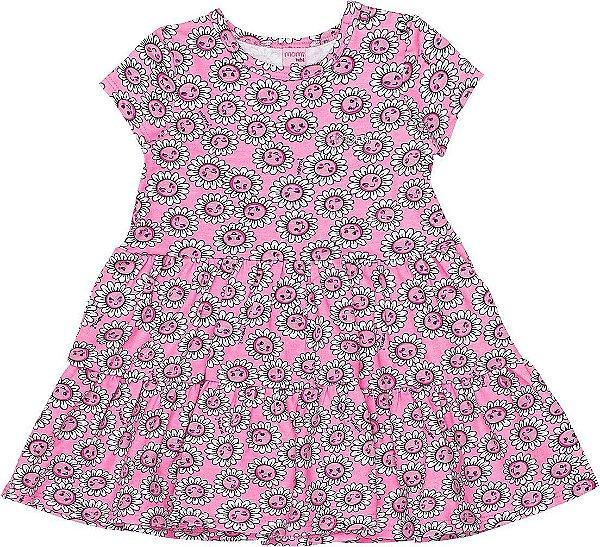Vestido Bebê Margaridas Momi
