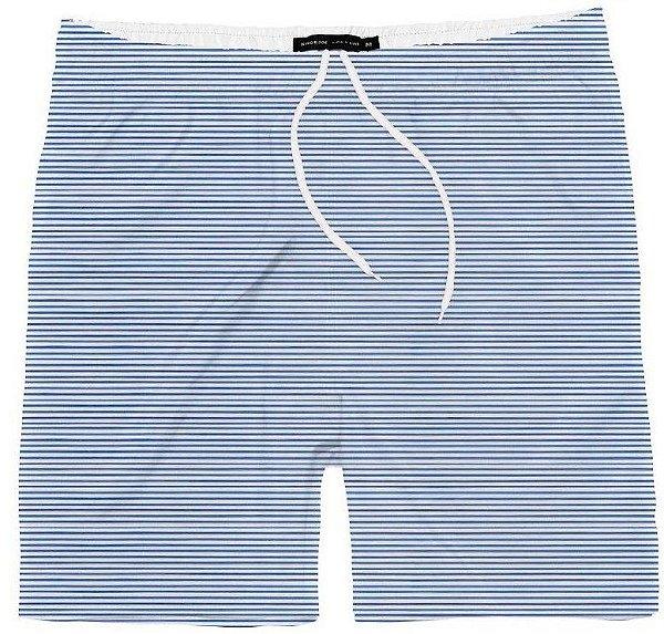Short Menino Praia Listrado Azul King & Joe 02 ao 08