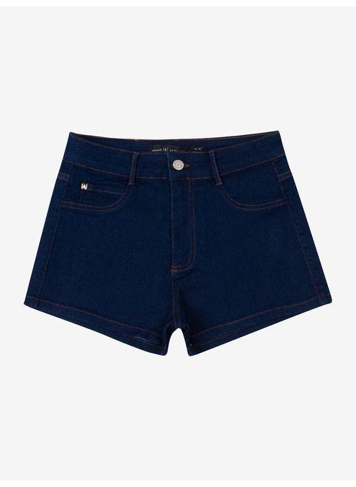 Shorts Feminino Jeans Escuro Authoria