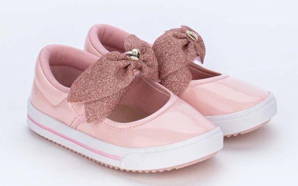 Tênis Feminino Kidy Love Baby Rosa