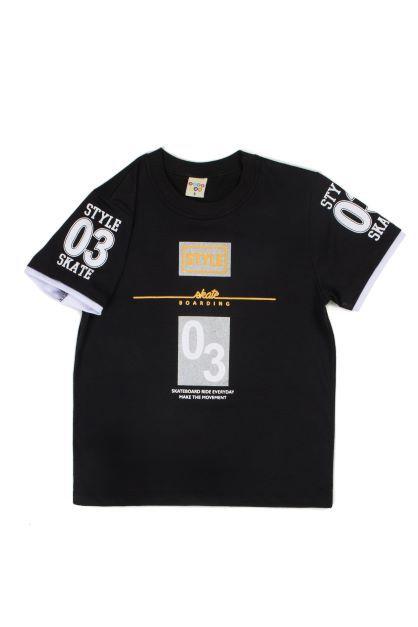 Camiseta Masculina Meia Malha Style Have Fun 04 ao 08