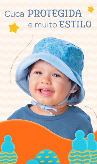 Chapeu Infantil Masculino 01 Ano Pimpolho
