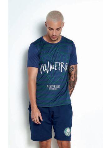 Camiseta Palmeiras Azul Licenciada