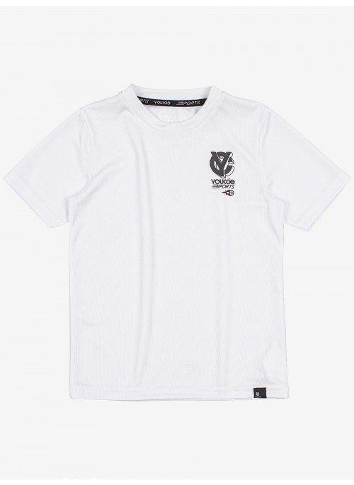 Camiseta Esportiva Branca Youccie