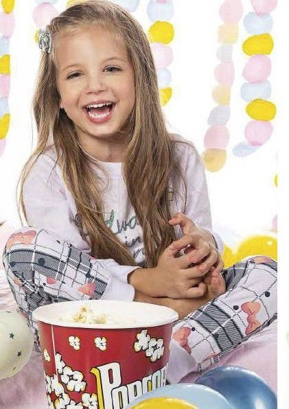 Pijama Menina M/Longa Always In My Heart