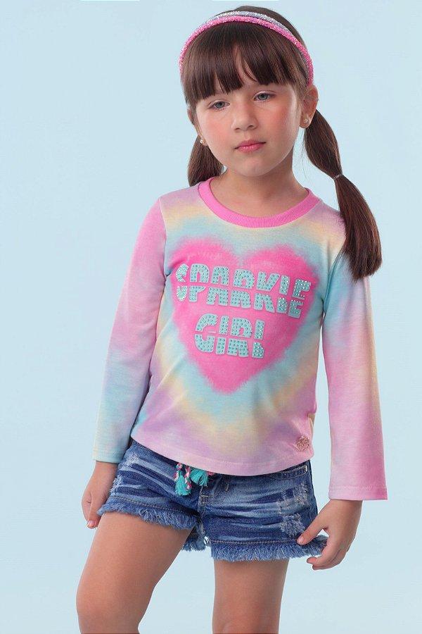 T-Shirt Menina M/Longa Inverno 2021 Merengue